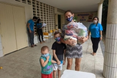 3ª ENTREGA DO KIT ALIMENTÍCIO PARA AS FAMÍLIAS