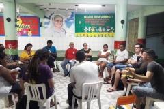 Reunião com movimentos sociais da Serrinha
