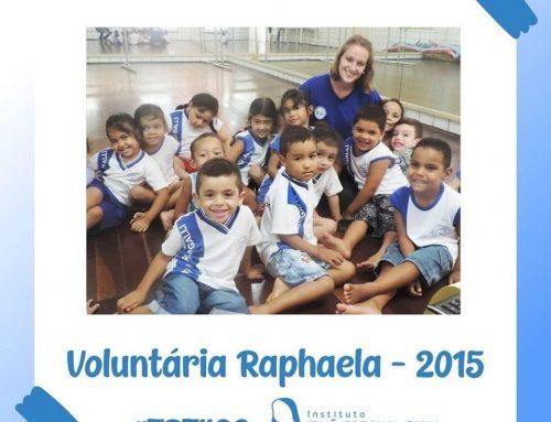 Nosso #TBT é do ano de 2015, quando recebemos a voluntária Raphaela que veio diretamente da Alemanha para o Brasil