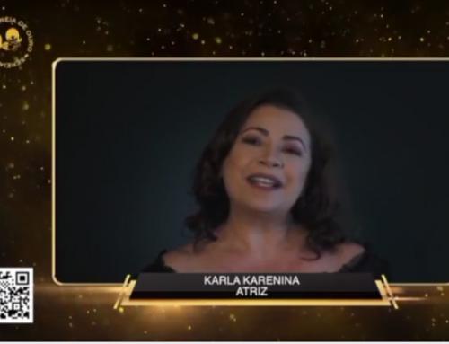 Grande orgulho da nossa madrinha Karla Karenina!!!