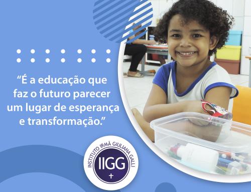 O IIGG deseja uma excelente semana para todos!