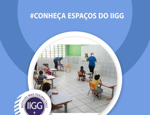 É com muito carinho que apresentamos mais um espaço no #CONHEÇAESPAÇOSDOIIGG! As salas do infantil IV e V