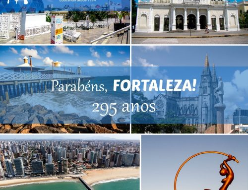 E hoje a cidade de Fortaleza completa 295 anos!