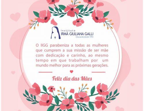 O IIGG deseja a todas as mamães, um Feliz Dia das Mães!