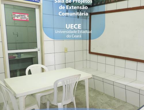 Conheçam no #EspaçosdoIIGG a Sala de Projetos de Extensão Comunitária – UECE