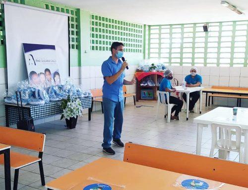 Momento especial em comemoração ao Dia dos Professores (as) e Funcionários (as)!💙👏